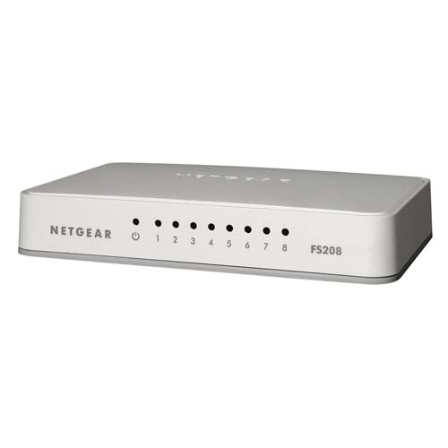 Netgear FS208 8-Port Fast Ethernet Switch
