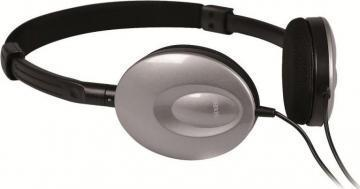 Maxell Super Thin Silver Headphones