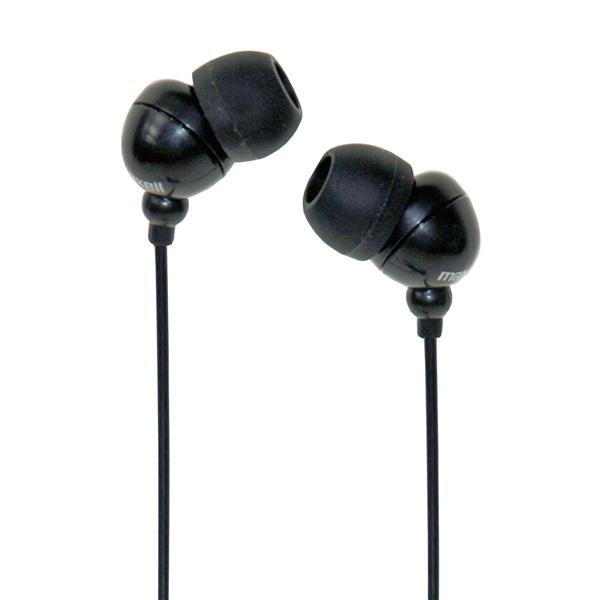 Maxell Ear Bud Black Earphones