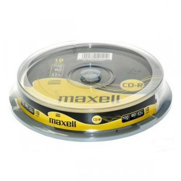 Maxell CD-R Media Spindle Pack (10 Pack)