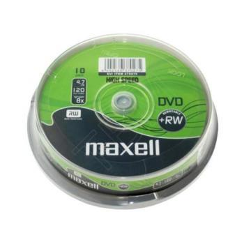Maxell DVD+RW Spindle 10 Pack