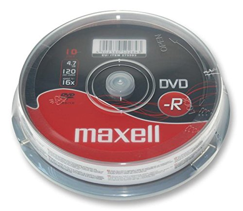 Maxell DVD-R Spindle 10-Pack