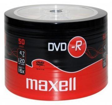 Maxell DVD-R Spindle 50-Pack