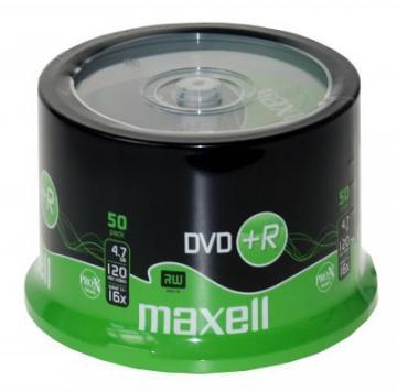 Maxell DVD+R Spindle 50-Pack