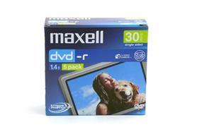 Maxell 30 Minute Camcorder DVD-R Media