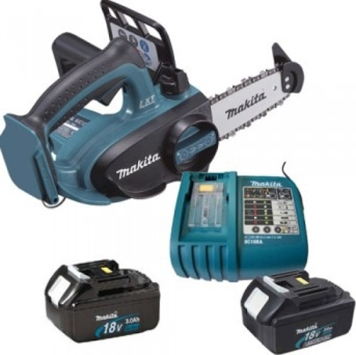 Makita Electric 18V Chainsaw with 2 batteries