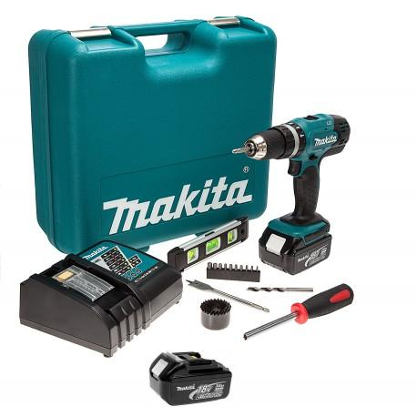 Makita 18V Li-Ion Combi Drill with 3Ah Battery