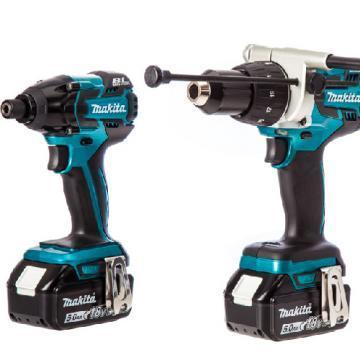 Makita 18V Li-Ion Heavy Duty Brushless Combi & Impact Driver