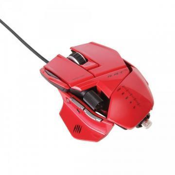 Mad Catz Red R.A.T. 5 Gaming Mouse