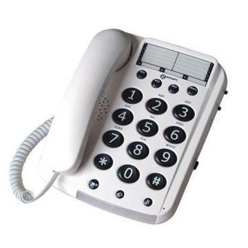 Geemarc Corded Big Button Telephone