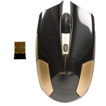 E-Blue Cobra Type-S Black Compact Gaming Mouse