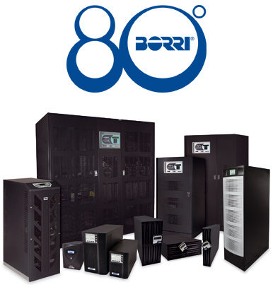 Borri E3001.e 10kVA 3/3 phase UPS with galvanic insulation