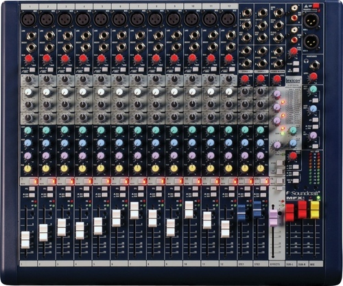 Soundcraft MFXI12 12-Channel Mixer
