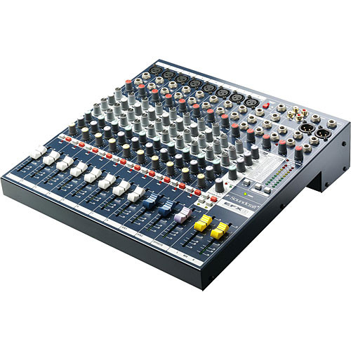 Soundcraft EFX8 Mixing Console 8/2