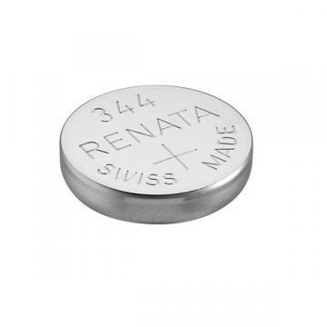 Renata Single Cell, Silver Oxide, 105 mAh, 1.55 V, SR42 Battery