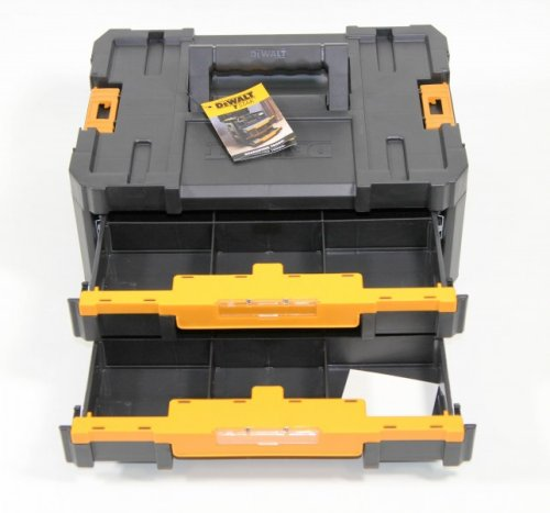 DeWalt TSTAK IV Shallow Drawers Storage Case