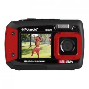 Polaroid Red iE090 18MP Dual Screen Waterproof Camera
