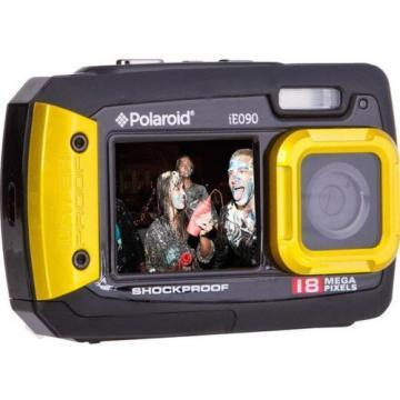 Polaroid Yellow iE090 18MP Dual Screen Waterproof Camera