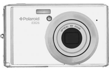 Polaroid 18MP iE826 White Digital Camera