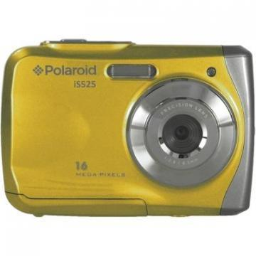 Polaroid iS525 16MP Yellow Waterproof Camera