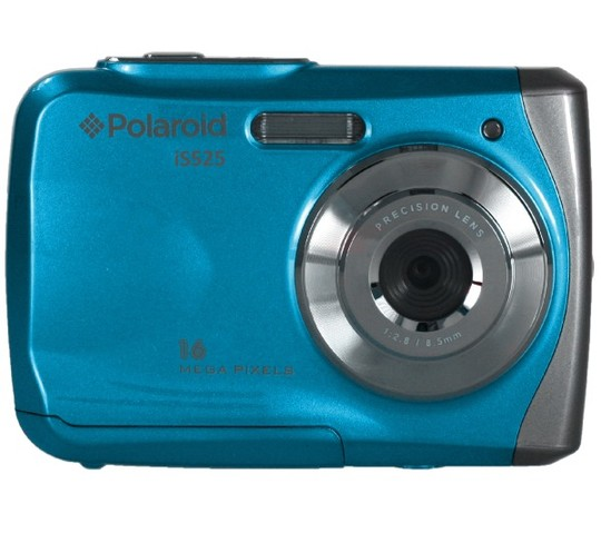Polaroid iS525 16MP Blue Waterproof Camera