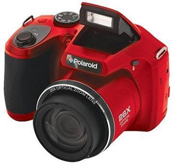 Polaroid 16MP iS2634 Red Optical Zoom Camera