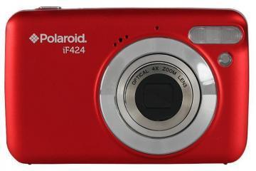 Polaroid 14MP iF424 Red Digital Camera