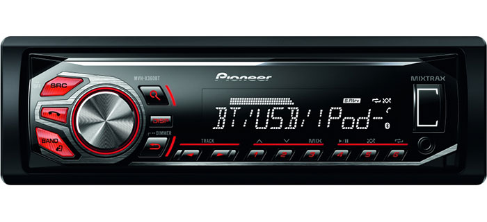 Pioneer Car MechLess CD Player