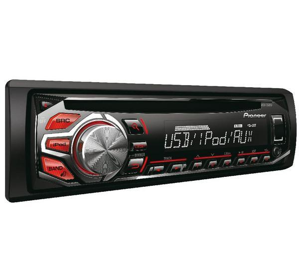 Pioneer DEH-2600UI Car CD Player + USB + IPHONE Dock