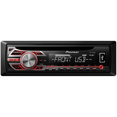 Pioneer DEH-1500UB Car CD Player + USB