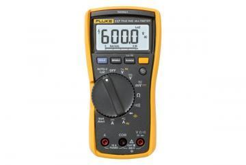 Fluke Electricians Digital Multimeter, True RMS, 6000 Count