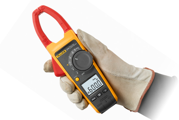 Fluke 374 True RMS AC/DC Clamp Meter with a 34mm Diameter