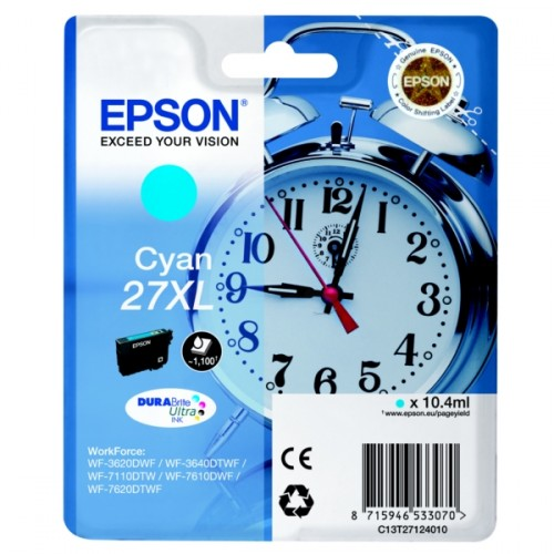 Epson T2712XL Cyan Ink Cartridge