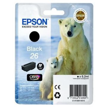 Epson T2601 Black Ink Cartridge