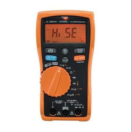 Keysight U1233A True RMS, 6000 Count Digital Multimeter with Temperature