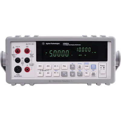 Keysight U3401A 4.5 Digit Dual Display Bench Top Digital Multimeter