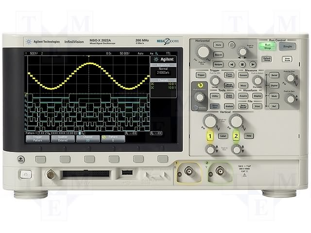 Keysight DSOX2012A InfiniiVision 2000 X-Series, 2 Analogue Oscilloscope