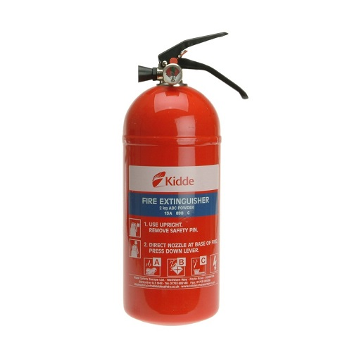 Kidde 2.0KG Multi-Purpose ABC Fire Extinguisher