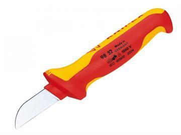 Knipex Cable Knife with 50mm Blade Length and Protective Cap