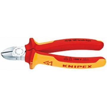 Knipex 140mm VDE Diagonal Cutters