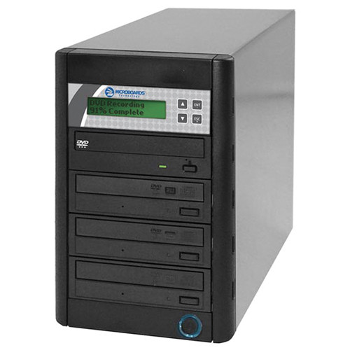 Microboards QD-DVD-123 1 to 3 DVD Duplicator