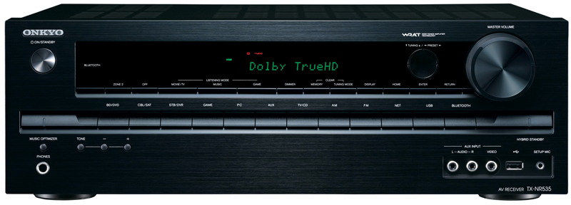 Onkyo TX-NR535 5.2 Channel Network AV Receiver