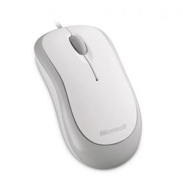 Microsoft Basic White Optical Mouse for Business