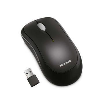 Microsoft Wireless 1000 Black Mouse