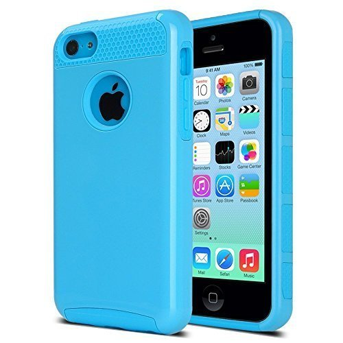 Apple 8GB Blue iPhone 5C Mobile Phone