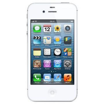 Apple 8GB White iPhone 4S Mobile Phone