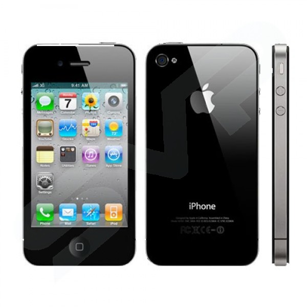 Apple 8GB Black iPhone 4S Mobile Phone