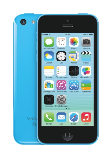 Apple 16GB Blue iPhone 5C Mobile Phone
