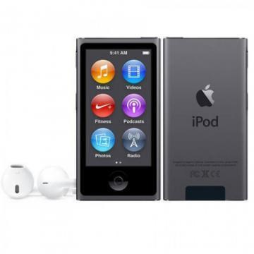 Apple 16GB Space Grey iPod nano (7th Gen)