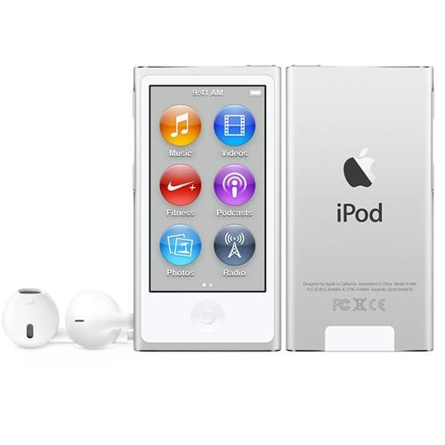 Apple 16GB Silver iPod nano (7th Gen)